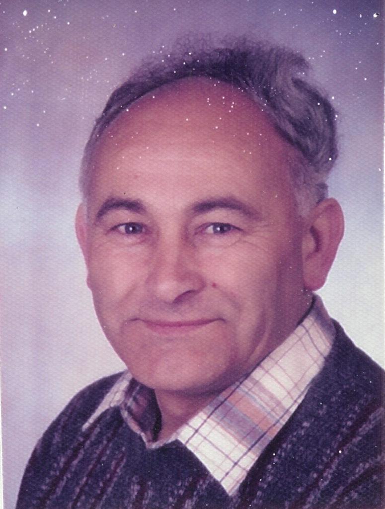 Paul Neher † 27.05.1990