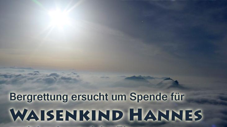 Spendensammlung für Waisenkind Hannes