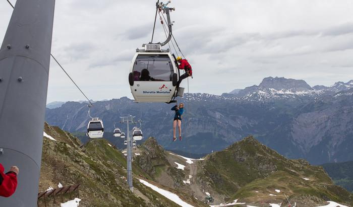 Gebietsstellenübung Panoramabahn Hochjoch